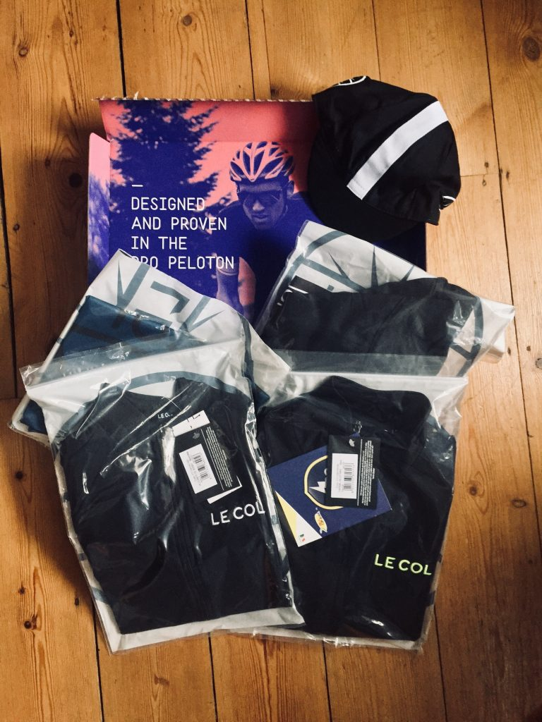 Ollie Jones Le Col Kit Drop